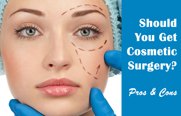 Pros of cosmetic surgery