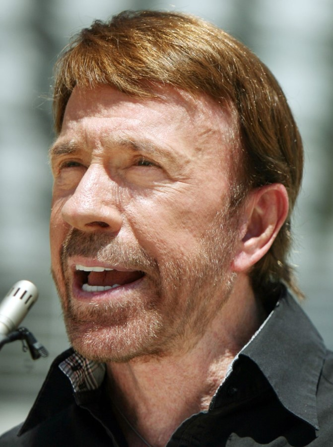 chuck norris plastic surgery photo - 1