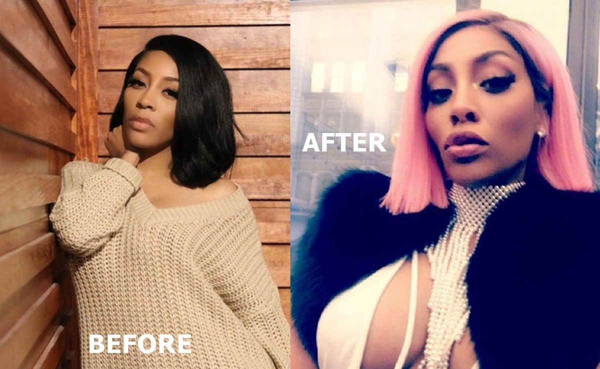 k michelle before the plastic surgery photo - 1
