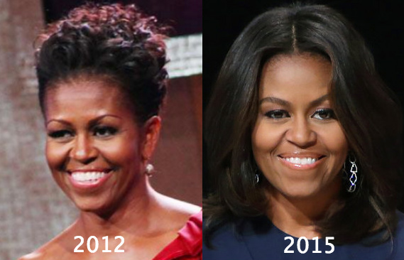 michelle obama plastic surgery photo - 1