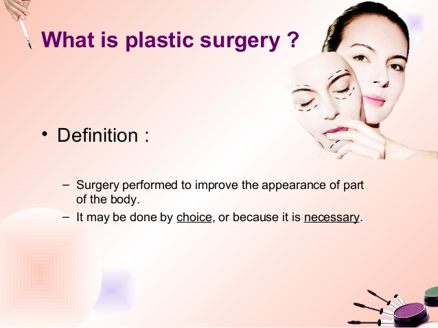 plastic surgery definition photo - 1