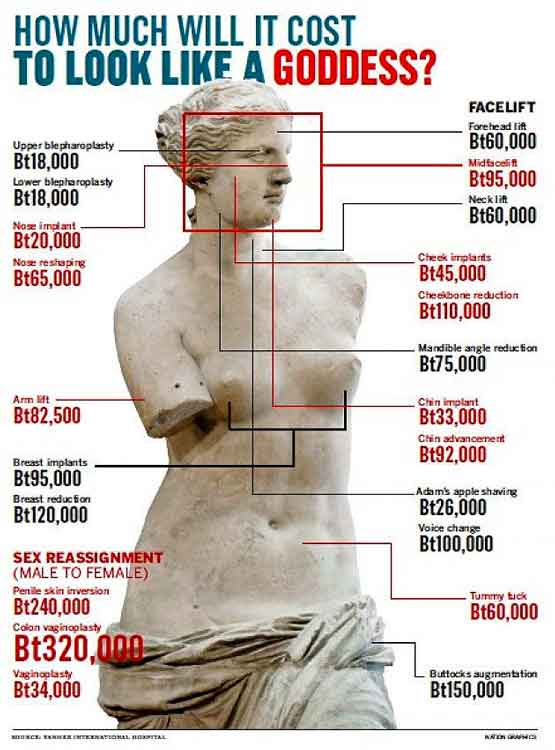 cost of cosmetic surgery photo - 1