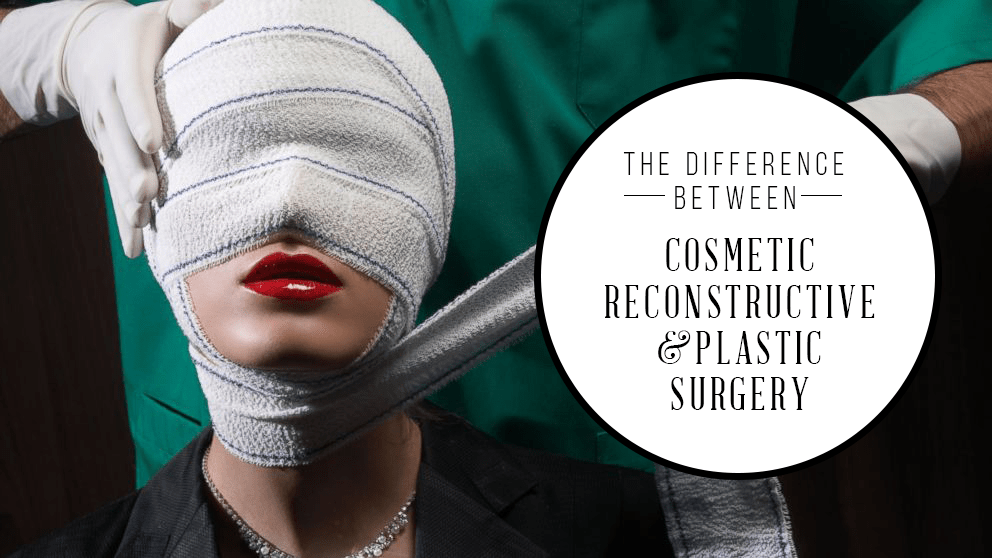 difference between plastic surgery and cosmetic surgery photo - 1
