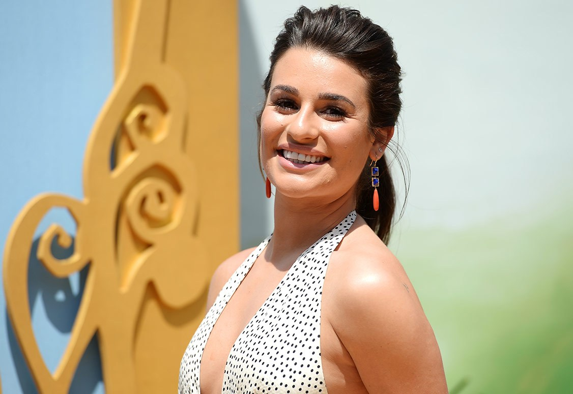 lea michele plastic surgery photo - 1