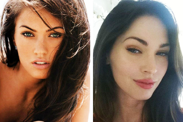 megan fox before and after plastic surgery photo - 1