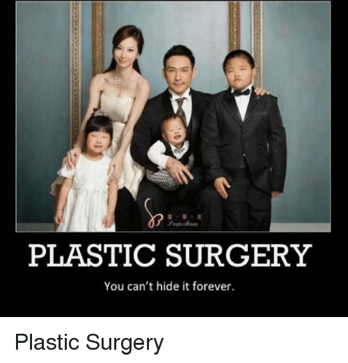 plastic surgery you cant hide it forever photo - 1